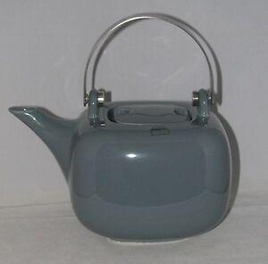 ASA Selection Porcelain 8 Cup Teapot Tea Pot Chai Collection GREY