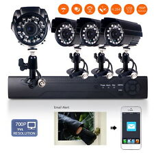 CCTV DVR 4CH 960H HDMI Outdoor  IR Video Camera Home Security Camera System Kit