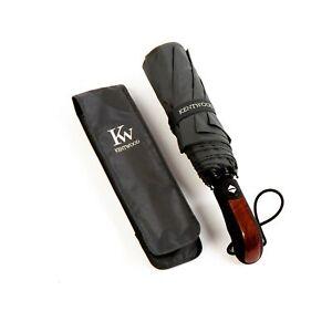Kentwood Teflon Windproof Travel Umbrella Grey