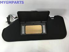 CHEVY CORVETTE DRIVERS SUN VISOR BLACK W/UG1 GARAGE DOOR OPENER 2005-13 22908791