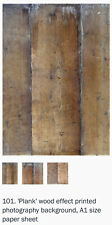 Photography Backdrop from Black Velvet Styling ~ A1, Wooden Planks