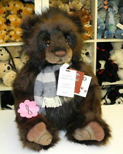 Charlie Bears Plush Collection Grandfather Of The Mountains 56cm Limit. (nr.8)