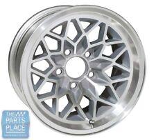 1976-81 Pontiac Firebird Trans Am Silver Snowflake Wheel - 15 x 8