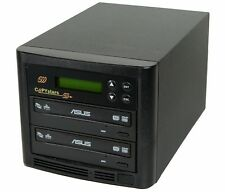1-1 Copystars CD DVD Copier Sony/LG/Liteon 24X DVD-RW duplicator copier tower