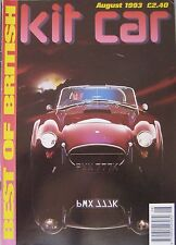 Kit car magazine August 08/1993