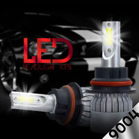 9004 HB1 LED Headlight Kit 488W 48800LM Conversion Light Bulbs White 6000K HID