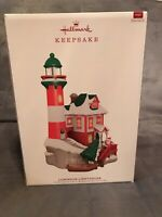 Hallmark 2019 Luminous Lighthouse Tabletop Keepsake Ornament Magic Light Sound