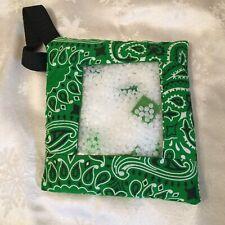 "Green Theme 6"" I Spy bag sensory toy-NEW"