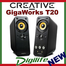 Creative GigaWorks T20 Series II Speakers 2 channel Power Rating 28W RMS