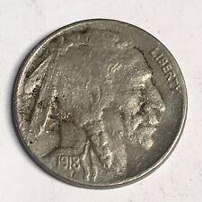 1918-D Buffalo Nickel - High Quality Scans #D425