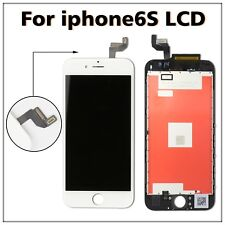 For iPhone 6s White LCD Display Touch Screen Digitizer Assembly Replacement