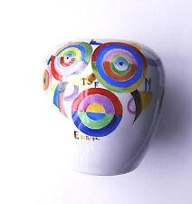 Sonia Delaunay- L'Europe -Vase- Unique