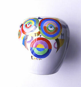 Sonia Delaunay- L'Europe -Vase- Unique