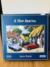"""A NEW ARRIVAL"" BY KEVIN WALSH 1000 PIECE JIGSAW PUZZLE FROM GIBSONS"