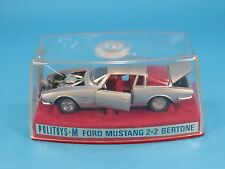1/43 POLITOYS M N° 549 FORD MUSTANG 2+2 BERTONE 1° SERIE 1969 BOXED[OU3-052]