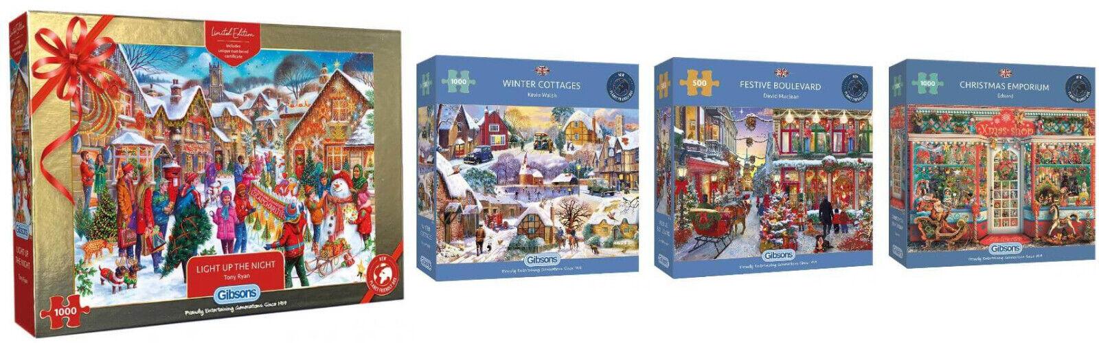 Gibsons Christmas Jigsaws
