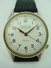 Hamilton Electric Railroad Special RR Stainless Vintage 505 Watch - not Running