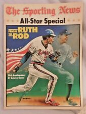 ALL STAR SPECIAL Insert 1983 SPORTING NEWS ROD CAREW & BABE RUTH Yankees