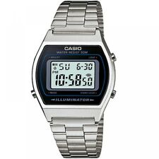 Casio Classic Digital Watch B640wd-1avef Retro Stainless Steel Bracelet