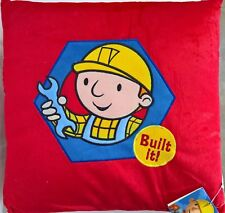 ~ Bob the Builder - CUSHION PLUSH BOYS PILLOW KIDS BED BEDROOM *On Sale*