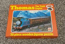 THOMAS THE TANK ENGINE & FRIENDS 30 PIECE WOODEN JIGSAW PUZZLE KIDS CHILDREN