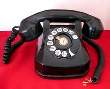Vintage Automatic Electric (Gt&E) Bakelite Dial Phone - Nice