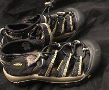 "Lightly Worn $70 Keen Boys ""Newport H2"" Sandal Black Size 11 29"