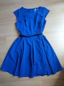 Petticoat Kleid Rockabilly blau 44 neu