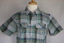Columbia Men's Short Sleeve Omni-Shade Button Down Shirt size L