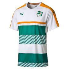 Camisetas de fútbol de manga corta entrenamiento blancos
