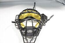 Rawlings Baseball PWMXJ Adult Umpire Mask Black