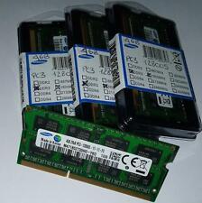 Samsung 1X4GB - 8GB (2X4GB) - 16GB (4X4GB) 12800S DDR3/PC3 1600 Mhz laptop kit