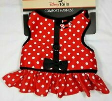 """Disney Parks Minnie Mouse Costume Harness small Dogs up to 20 lbs Girth 17""""-19"""""""