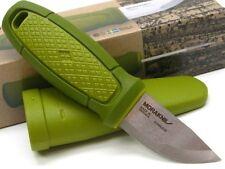 MORA OF SWEDEN MORAKNIV Green ELDRIS Straight Fixed Neck Knife + Sheath! 01763