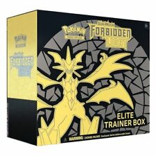 Forbidden Light Elite Trainer Box POKEMON TCG Sun & Moon Sealed 8 Booster Packs