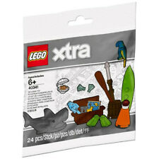 Lego Xtra 40341 -Sea Accessories - Shark Treasure Chest - Polybag - NEW