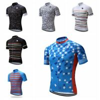 Short Sleeve Men's Cycling Jersey Breathable Sportswear Clothing Tops Tee Shirts
