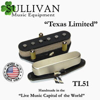 Custom Shop Telecaster Pickup Set A3/A5 Texas Limited Hand Wound Tele SME TL51