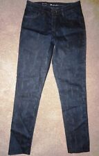 Levi's High Rise Skinny Jeans Navy Blue Juniors Size 26 Inseam 29""