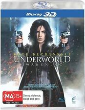 UNDERWORLD AWAKENING BLU-RAY 3D=KATE BECKINSALE=REGION B AUSTRALIA=NEW & SEALED
