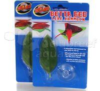 Betta Fighting Fish Bowl/Tank Bed/Hammock  Zoo Med (2) Pack
