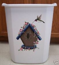 HP WASTE PAPER BASKET/BIRDHOUSE/HUMMINGBIRD/NEW BY MB