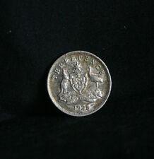 1925 Threepence Australia Rare Silver World Coin KM24  6 Pence Red Kangaroo Emu