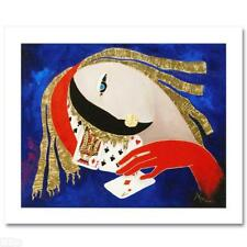 """ARBE """"PLAY THE HAND YOU'RE DEALT"""" NEW AP GICLEE/CANVAS"""