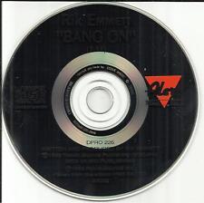 Triumph RIK EMMETT Bang on 1992 USA MINT PROMO Radio DJ CD Single DPRO226 Rick