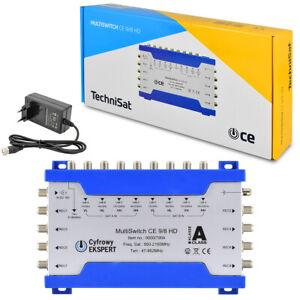 TechniSat Multischalter 9/8 Verteiler Multiswitch CE FULL HDTV 3D 4K Digital SAT