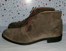 Russell & Bromley Mens Brown Suede Boots Size UK 8
