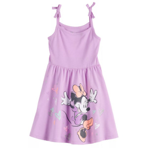 Disney's Minnie Mouse Toddler Girl Bow-Strap Skater Dress by Jumping Beans 5T