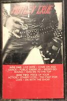 Mötley Crüe – Too Fast For Love Cassette 1982 Elektra – 9 60174-4 Y