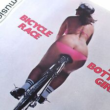 "SEXY COVER QUEEN 1978 BICYCLE 7"" VINYL FAT BOTTOMED GIRLS FIXI TEN SPEED N.MINT"